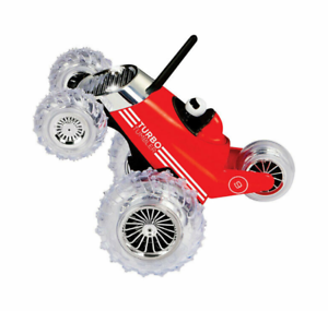 Turbo Tumbler Car Red RC Remote Controlled Toy Monster 360 Spinning 27MHz