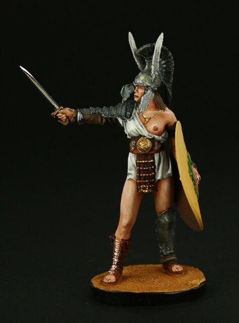 Tin soldier, Collectible, Roman Gladiator Amazon, 54 mm, Gladiators of Rome