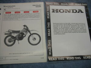 image is loading 84-xr200-xr-2001984-honda-factory-oem-assembly-