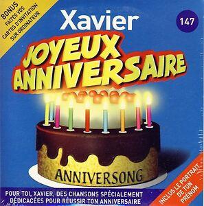 Carte Joyeux Anniversaire Xavier.Details Sur Joyeux Anniversaire Xavier 10 Titres