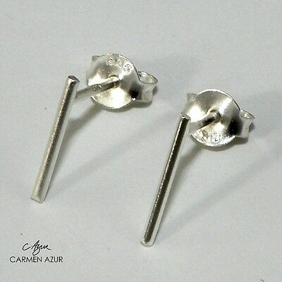 UK Seller Black Velvet Gift Pouch Silver Starfish Dangle Earrings
