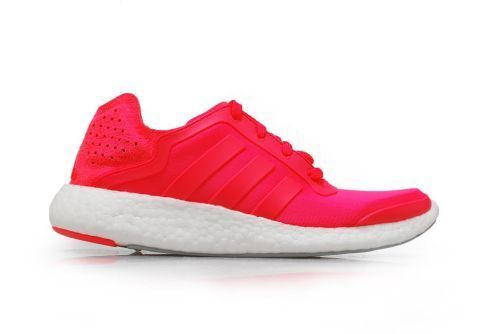 Womens Adidas Pureboost W - B35788 - Pink Coral White Trainers