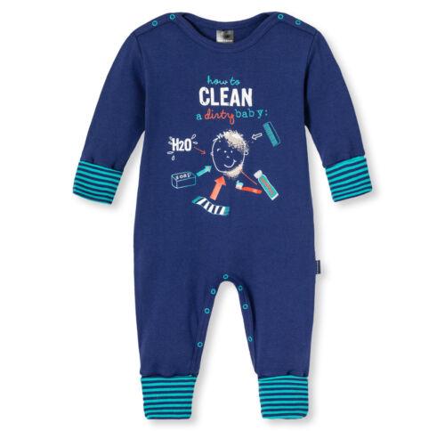 SCHIESSER Baby Anzug Vario Strampler WASCHHELDEN  62 68 74 80 86 92 Schlafanzug