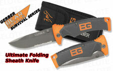 Gerber Bear Grylls Ultimate Folding Knife with Sheath 31-000752 NEW