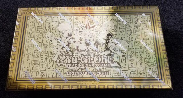 YU-GI-OH LEGENDARY DECKS II #2 SEALED SET YUGI,KAIBA,JOEY, GOD CARDS,EXODIA ++