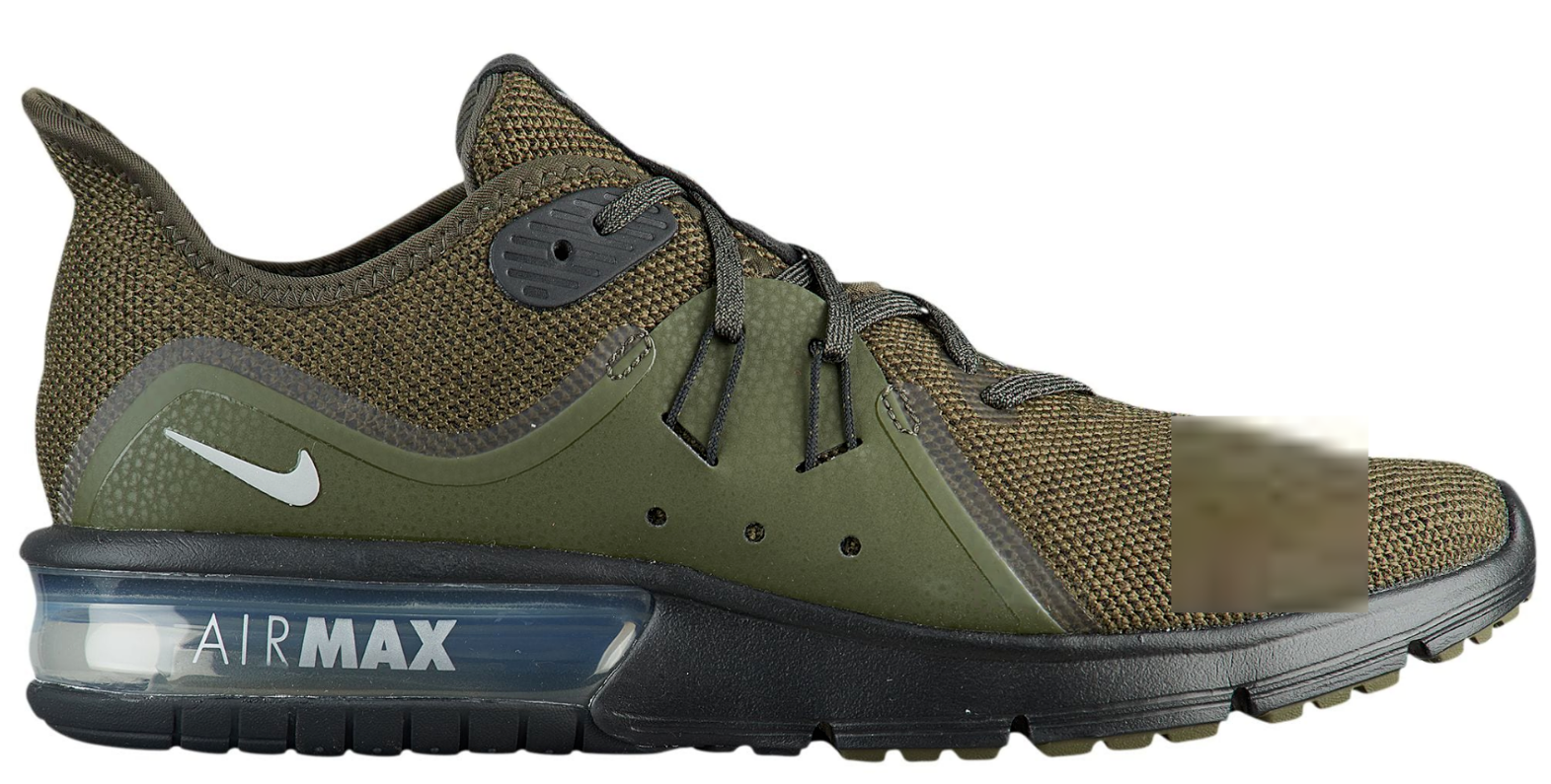 Nike Air Max Sequent 3 Men's Running shoes 921694 301 301 301 Cargo Khaki   Silv. Size 8 8f541c