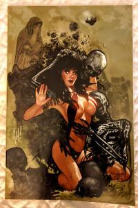 Vampirella #11  Frankie/'s Comics Variant Adam Hughes Virgin Cover  CGC 9.8