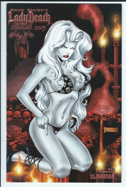 Avatar Brian Pulido's Lady Death Swimsuit 2005 Moment of Peace Variant LTD 1500
