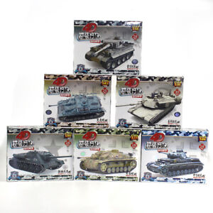 Medium-StuG-IV-F2-6pc-4D-Heavy-Assemble-Battle-Tank-Model-Weapons-Armor-Boy-Gift