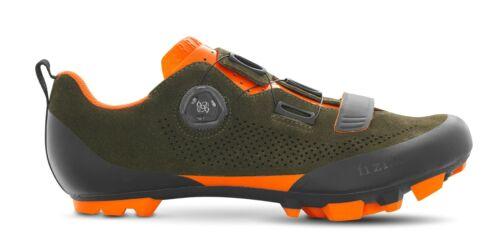 FIZIK TEX5VCSU15391-430 Suede Military Green//Orange 43