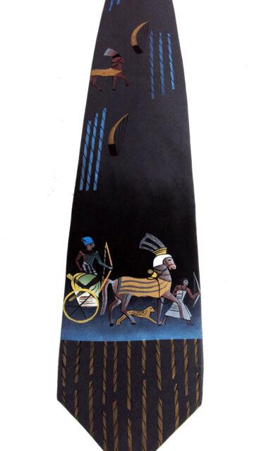 Two 100/% Silk Men Necktie Wine and Cigar Tobacco #6 Hand Painted Art Tie Novelty