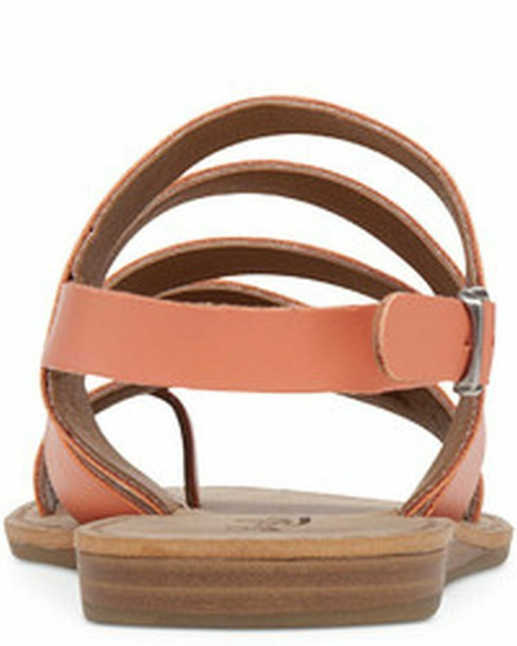 Lucky Brand Fairfaxx Coral Leather Sandals Women Women Women Size 10 M b5f578