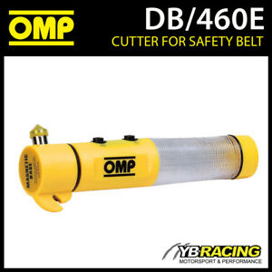 DB-460E-OMP-Racing-Rally-Safety-Emergency-Tool-Hammer-Light-Magnet-Cutter-OMP