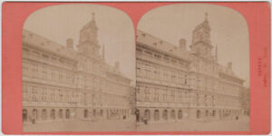 Original-1870s-stereoview-BELGIUM-Antwerp-city-hall