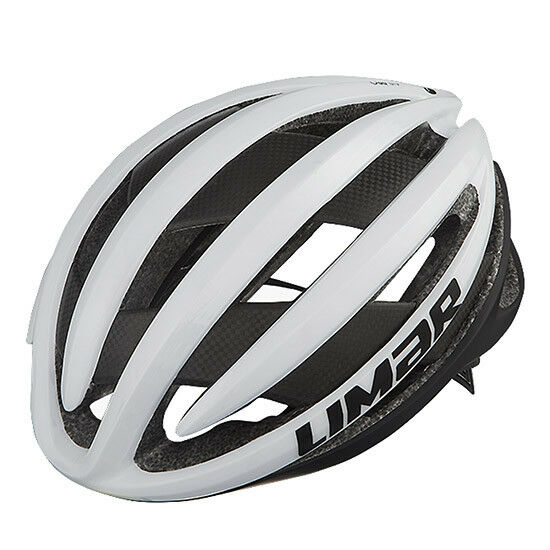Casco bici corsa Limar Air Pro bianco carbon bike helmet white M 53-57 cm