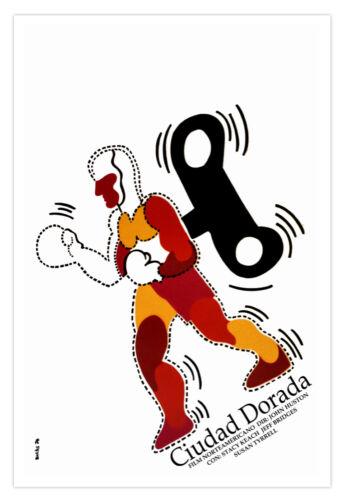 "Movie Poster 4/""FAT City/""American film.John Huston.Boxing.Ciudad Dorada.Decor art"