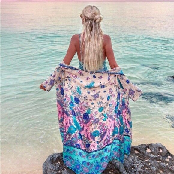 Spell and the Gypsy Siren Song Kimono Mermaid One Size BNWOT
