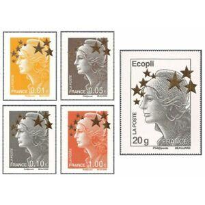 SERIE-N-4662A-4662Q-034-TIMBRES-MAXI-MARIANNE-DE-BEAUJARD-034-2012-NEUFS-LUXES