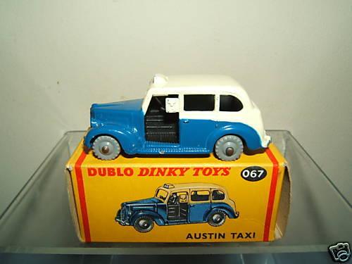 Niedlich dublo modell no.067 austin - taxi (zweiten jahreshälfte 2007) mib