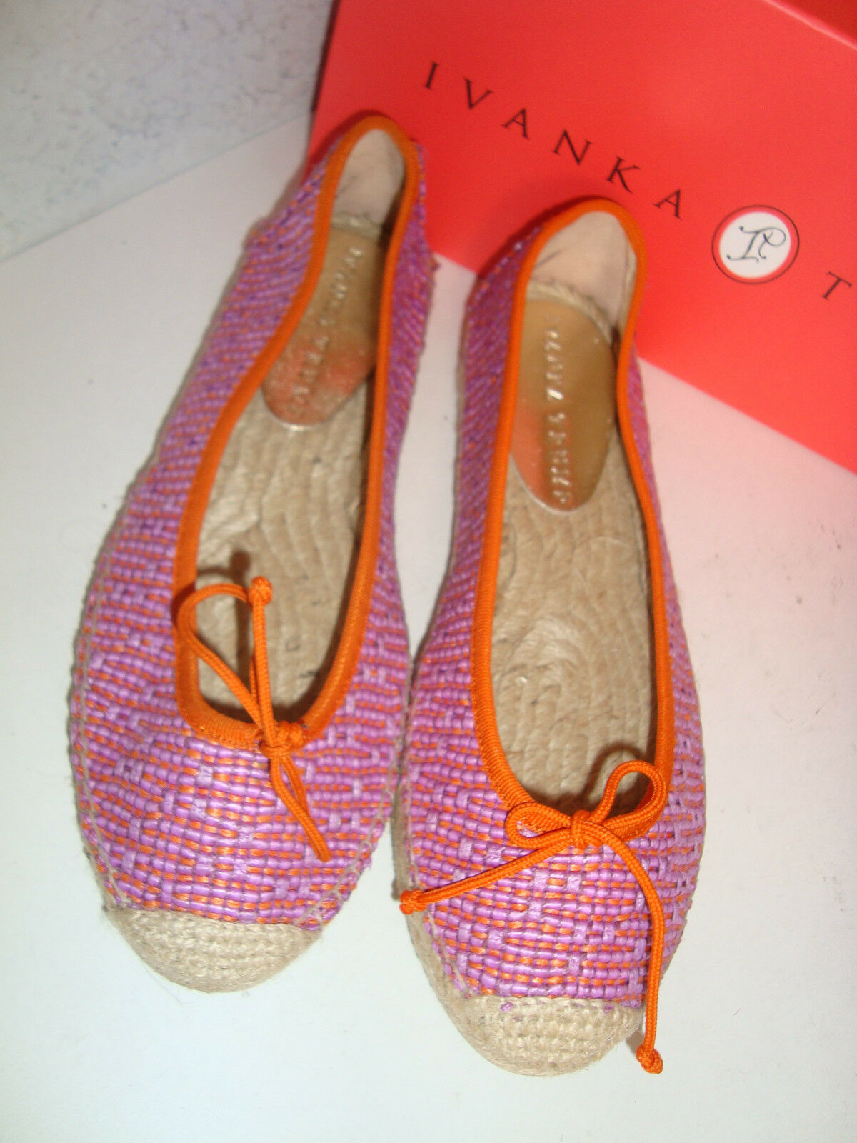 Ivanka Trump New Damenschuhe Megan Multi Farbe Flat Schuhes 8 Medium