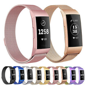 For-Fitbit-Charge-3-4-SE-Milanese-Magnetic-Watch-Band-Strap-Bracelet-Replacement