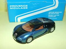BUGATTI EB 18/4 VEYRON 2000 PROVENCE MOULAGE Kit Monté 1:43 défaut rétro
