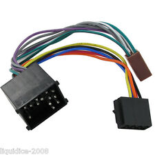 ct20bm01 bmw x5 e53 iso stereo head unit wiring harness adaptor lead