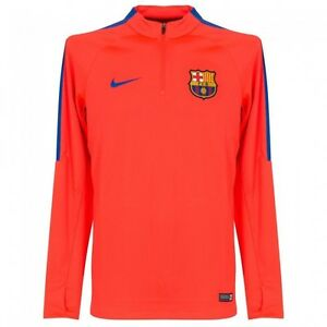 4291169ad Nike 2016-17 FC Barcelona Squad Drill Top (Bright Crimson-Game Royal ...