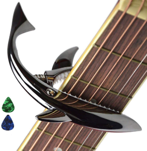 2-Pack Basics Zinc Alloy Guitar Capo for Acoustic and Electric Guitar Copper