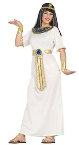 20a328af21d05 Details about Adult Deluxe Egyptian Goddess Ladies Fancy Dress Cleopatra  Egypt Womens Costume