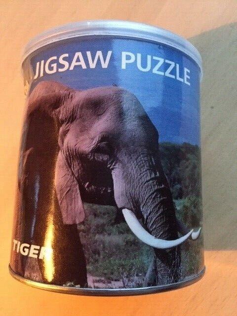 Puslespil: Elefanter , familiespil børnespil, puslespil