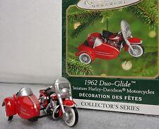 Hallmark 1962 Harley Duo-Glide Motorcycle 2nd in Series miniature 2000 NEW