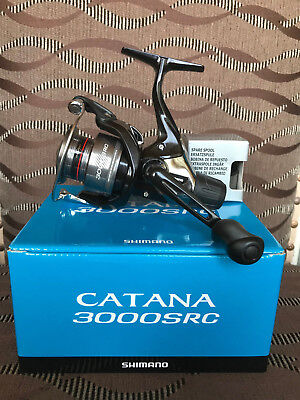 Shimano Angelrolle Heckbremsrolle Catana 3000 RC