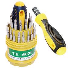 31 in 1 Screwdriver Set Repair Kit Tools Model Bicycle Engine Guns Cross Heads