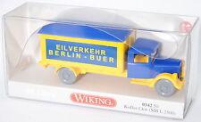 Wiking 034250 Mercedes-Benz L 2500 Koffer-LKW EILVERKEHR Sondermodell 1:87