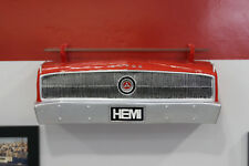 1969 Dodge Charger Painted Orange Resin Wall Decor w// Glass Shelf 7580-102