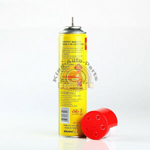 Details about NEW - NEON ULTRA REFINED BUTANE GAS - FILTERED LIGHTER REFILL  FUEL w/ 5 Adapters