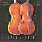 Back To Back (CD, Jan-2010, MJA Productions)