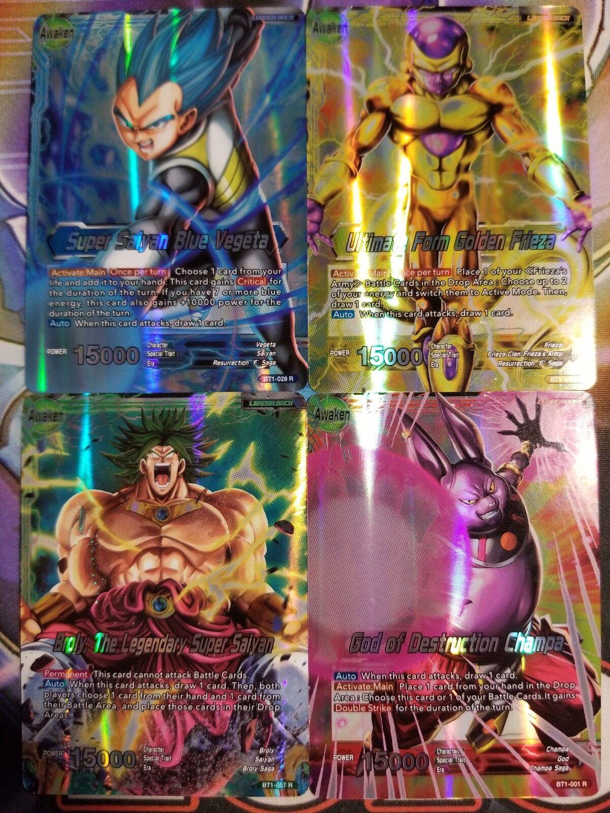 Furthering Destruction Champa BT1-005 UC M//NM 1x Dragon Ball Super
