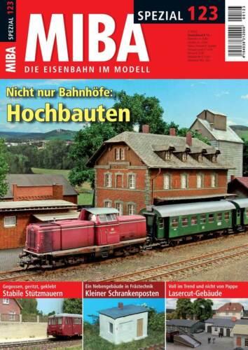 MIBA Spezial 123 Nicht nur Bahnhöfe Hochbauten