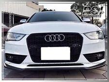 Audi A4 S4 B8.5 2013-2015 Facelift Model Only P Style Carbon Fiber Front Lip