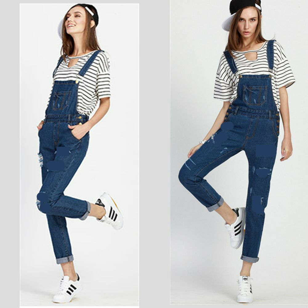 The gallery for --u0026gt; Jumpsuits Jeans For Women