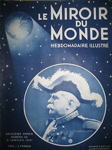 MARECHAL-JOFFRE-D-039-ANNUNZIO-PALM-SPRINGS-INDIENS-COIFFURE-LE-MIROIR-DU-MONDE-1931