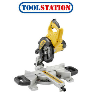 DeWalt-DWS774-GB-1400W-216mm-Sliding-Mitre-Saw-240V