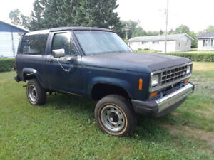Ford bronco ll 1984 xlt
