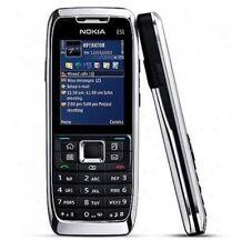 Nokia E51 2.0MP Camera 3G Bluetooth Wifi Bar Mobile Phone- Unlocked Silver
