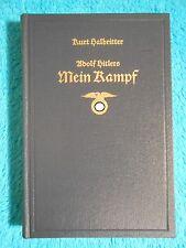 Kurt HALBRITTER - Hitler Hitlers MEIN KAMPF - SATIRE - Bärmeier & Nickel 1968