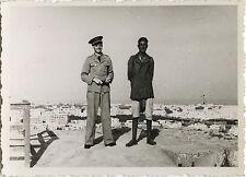 PHOTO ANCIENNE - VINTAGE SNAPSHOT - MILITAIRE PILOTE ARMÉE AIR UNIFORME 1940 1