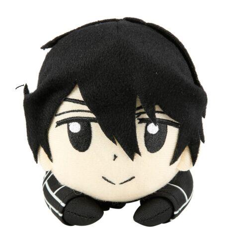 **Legit** Sword Art Online SD Kirito Lying Posture 8/'/' Authentic Plush #52873