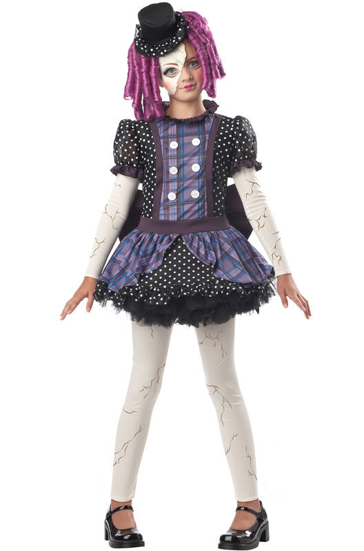 Broken Doll Phantom - Monster High Child Costume